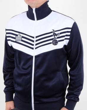 80s Casual Classics Tottenham 1978 Admiral Track Top Navy/white
