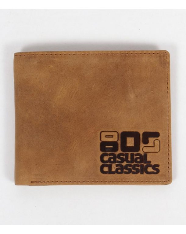 80s Casual Classics Wallet Light Brown