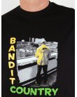 80s Casuals Bandit Country T-shirt Black