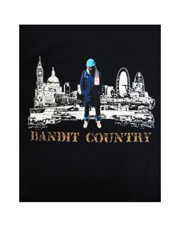 80s Casuals Bandit Country T-shirt Navy
