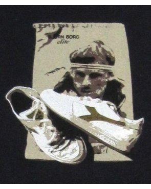 80s Casuals Borg Elite T-shirt Dark Navy