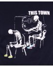 80s Casuals Ghost Town T-shirt Navy