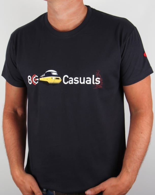 80s Casuals Inter City T-shirt Navy