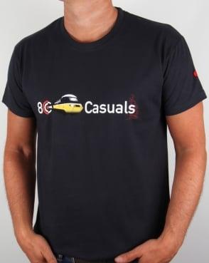 80s Casuals Inter City T-shirt Navy