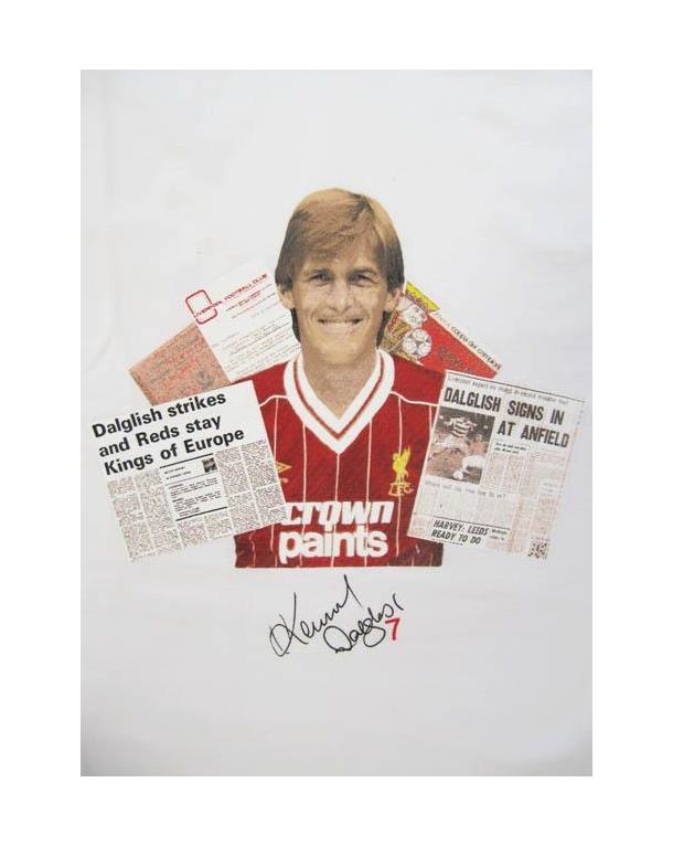 80s Casuals King Kenny Dalglish T-shirt White