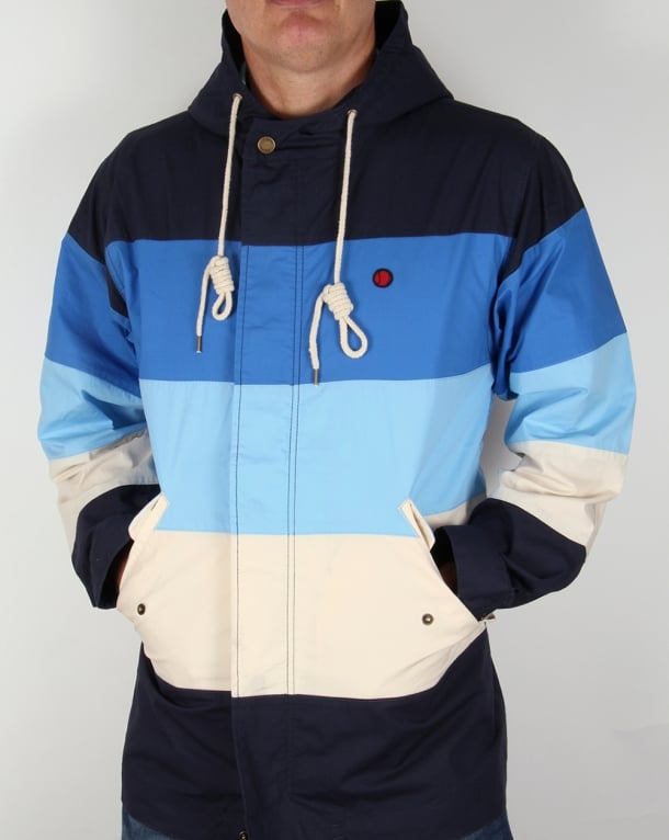 80s Casuals Nice MK II Yachting Jacket Blue