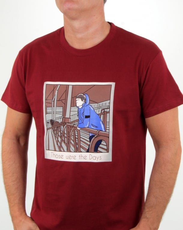 80s Casuals Those Were The Days T Shirt Chilli Red