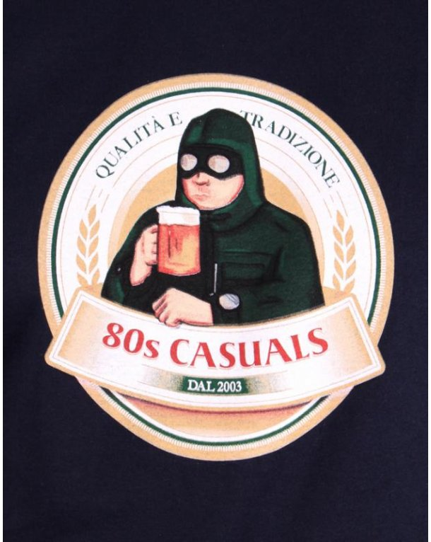 80s Casuals Tradizione T-shirt Navy