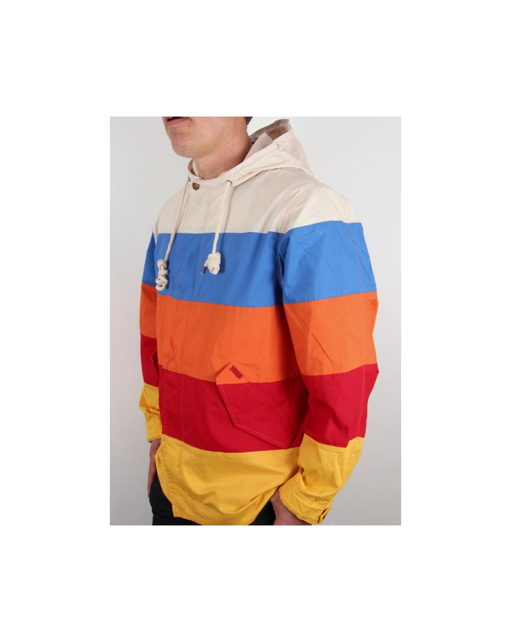 80s casuals yachting jacket