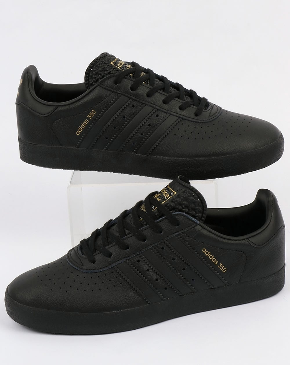 Adidas 350 Trainers Black,leather,shoes,originals,mens