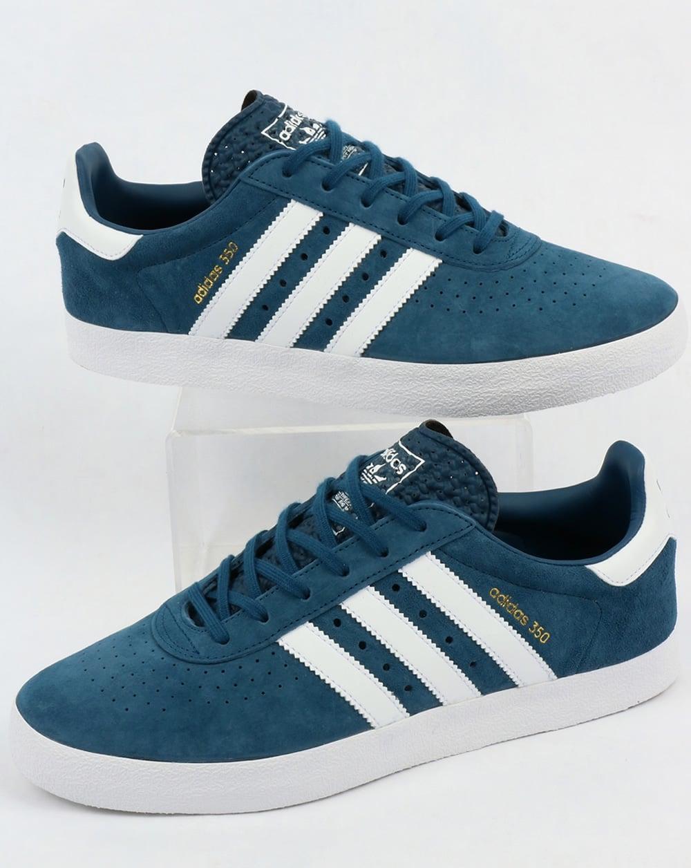 dec6b160e96 adidas Trainers Adidas 350 Trainers Blue Night White