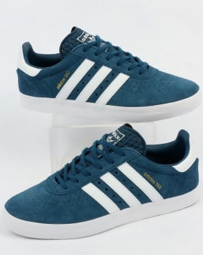 adidas Trainers Adidas 350 Trainers Blue Night/White