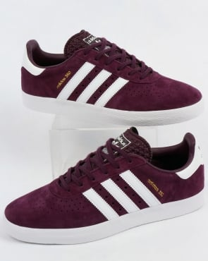 adidas Trainers Adidas 350 Trainers Deep Plum/White