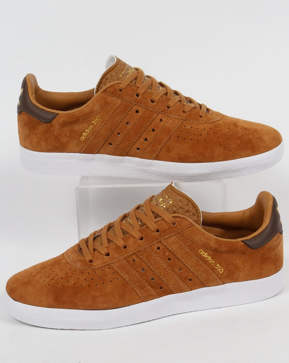 Adidas Trainers Adidas 350 Trainers Deep Tan / Brown