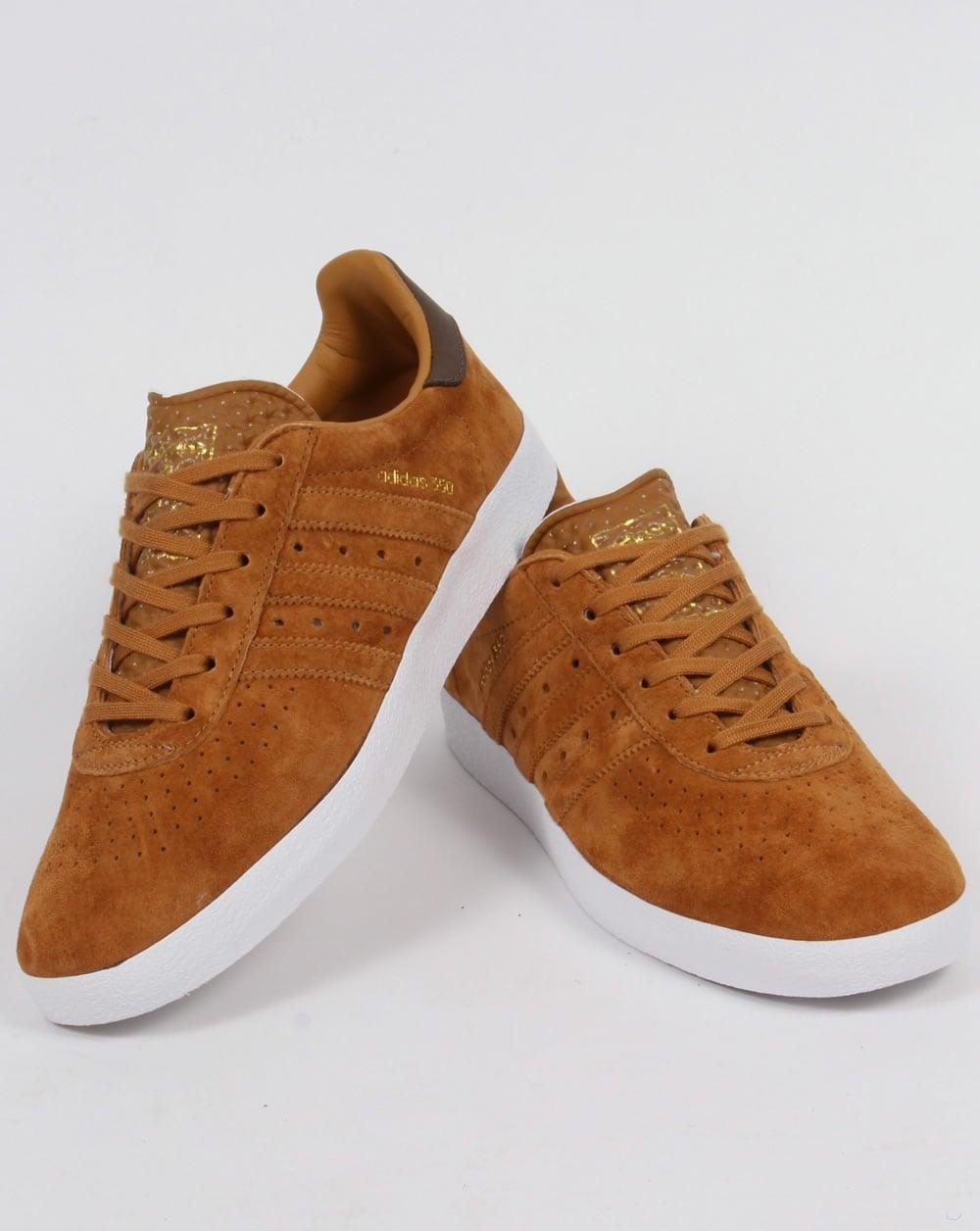 Adidas Trainers Adidas 350 Trainers Deep Tan / Brown