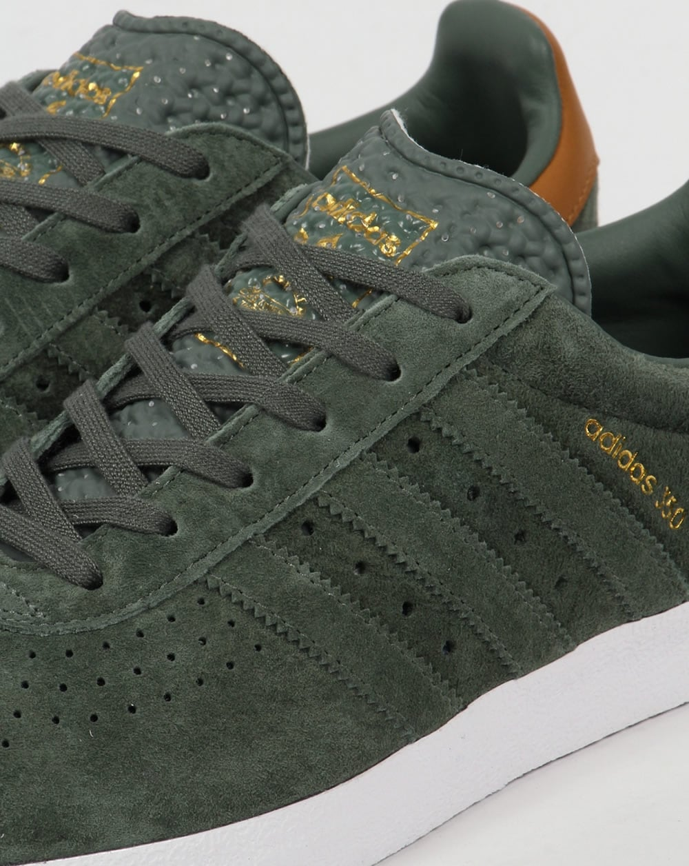 Adidas 350 Trainers DK Olive