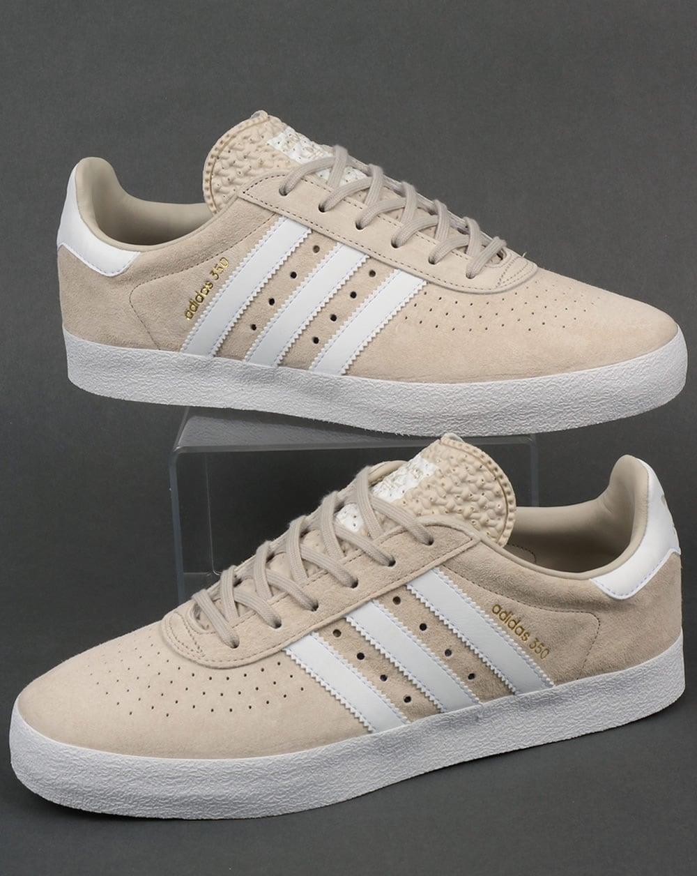 adidas 350 white off