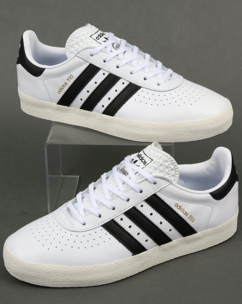 adidas Trainers Adidas 350 Trainers White/Black/Off White ...