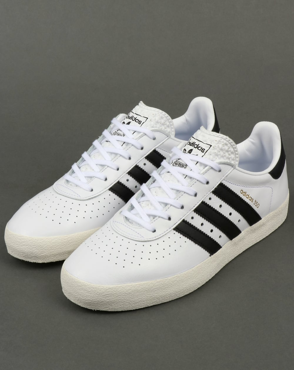 cheaper 88c88 d0ff9 Adidas 350 Trainers White/Black/Off White