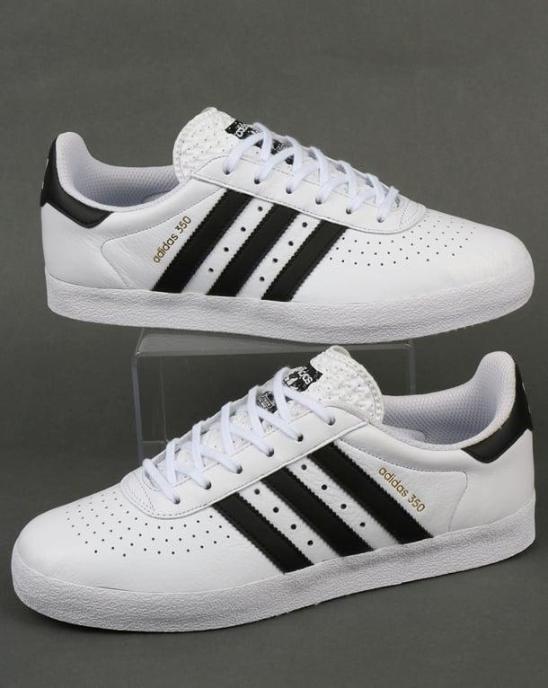 Adidas 350 Trainers White/Black