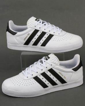 Adidas 350 Trainers White/Black