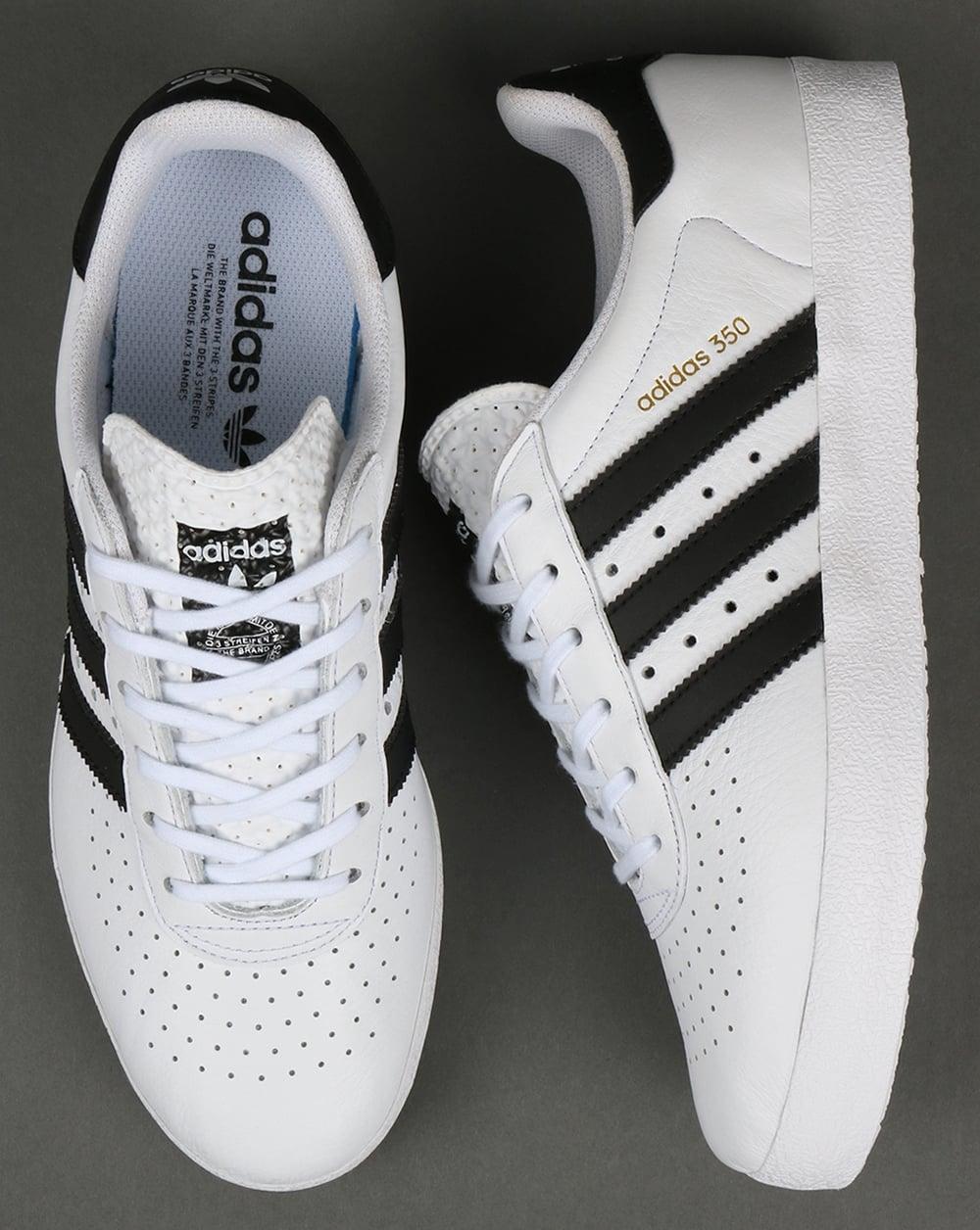 adidas 350 white. adidas 350 trainers white/black white