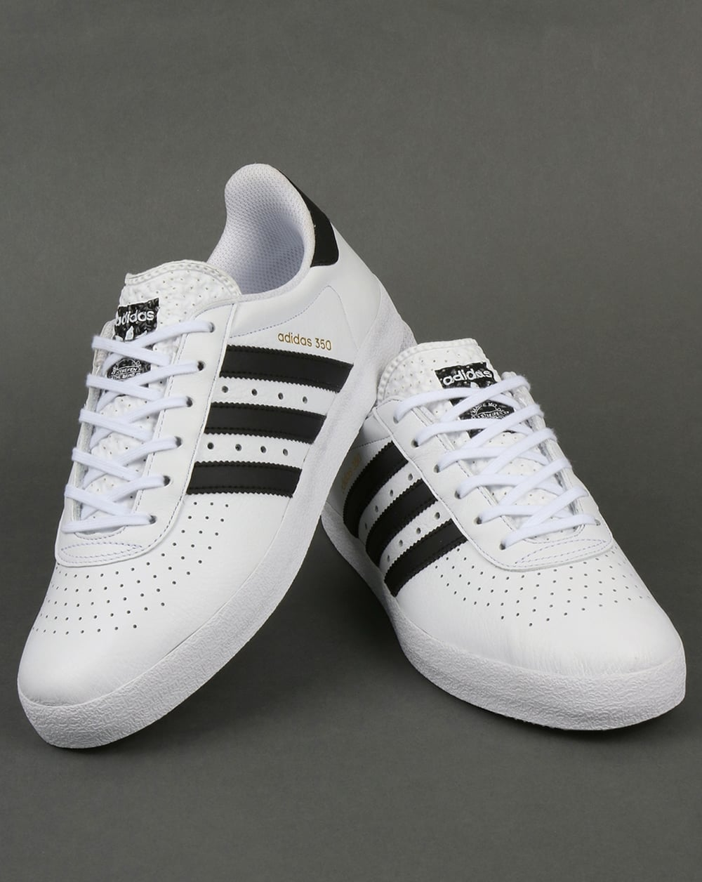 15901bccb39d Adidas Trainers Adidas 350 Trainers White Black