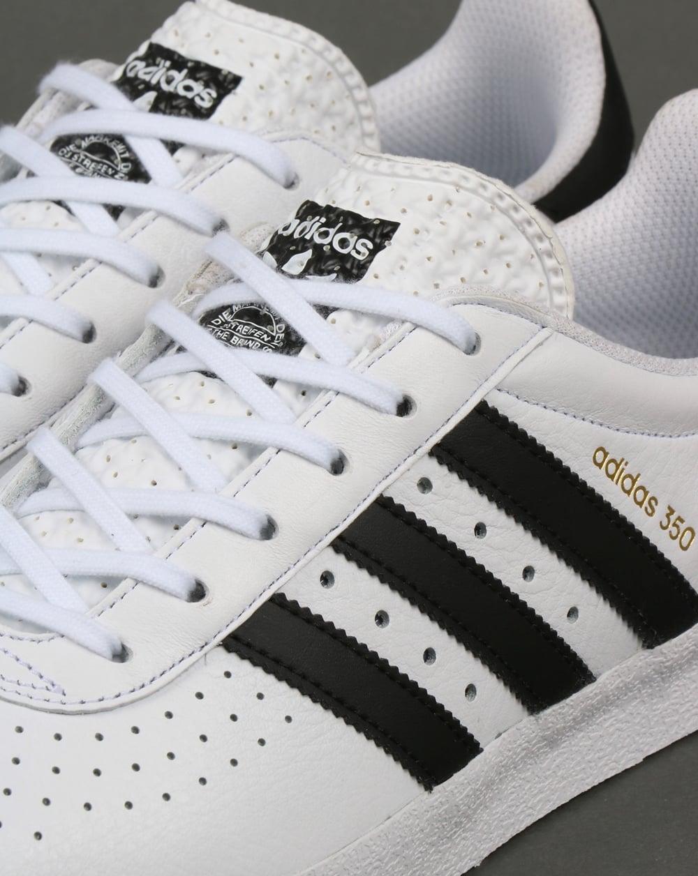 Adidas 350 Trainers WhiteBlack