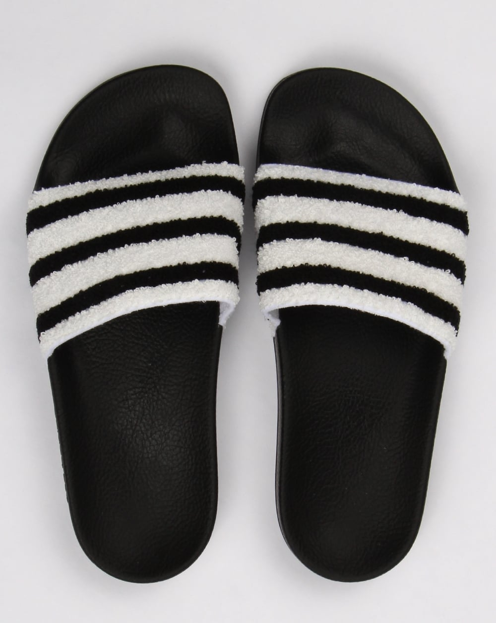 ce5e87298a2 Adidas Adilette Sliders Black White