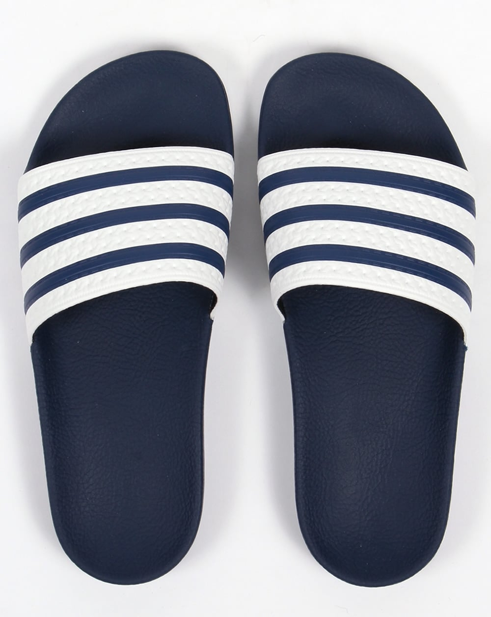 the latest b60ac 860b7 Adidas Adilette Sliders WhiteNavy