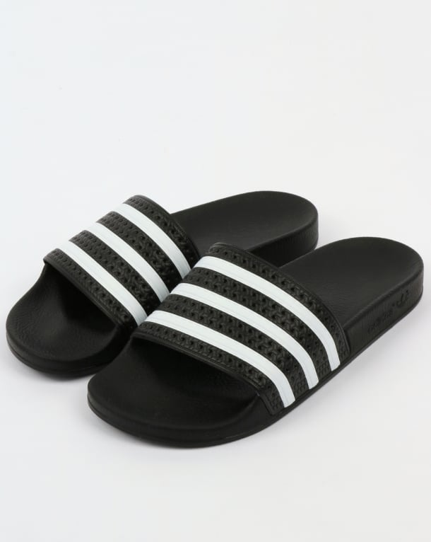 Adidas Adilette Slides Black/White