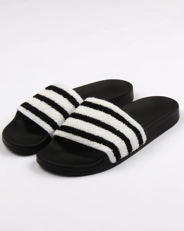 Adidas Adilette Slides Black/White