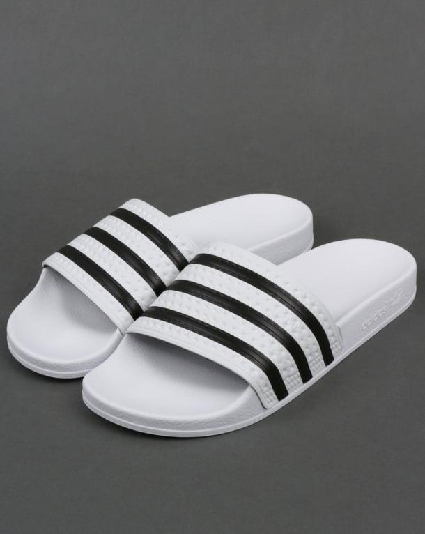 Adidas Adilette Slides White/Black