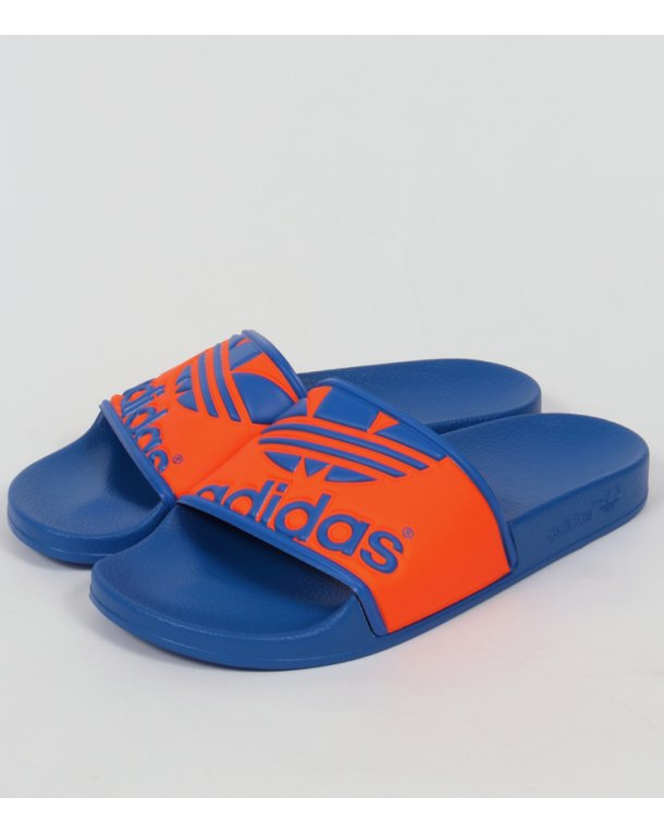 low shipping fee free shipping latest collections adidas Originals Adilette Slider Sandals In Orange clearance top quality clearance store sale pick a best Fa6fg6eMY