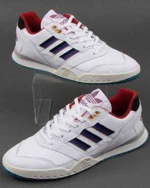 new concept 66377 09c72 adidas Trainers Adidas AR Trainer White Burgundy Navy