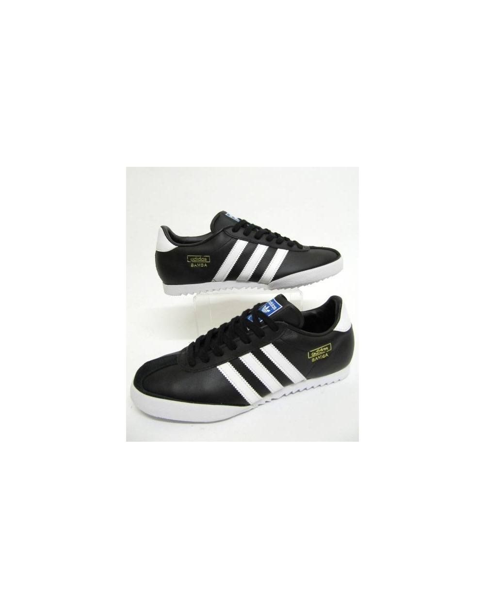 a9c953eae0d9f Adidas Bamba Trainers Black/white, originals, adidas bamba black ...