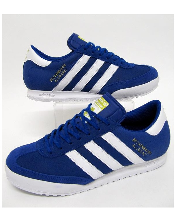 Adidas Beckenbauer Trainers Collegiate Royal/White