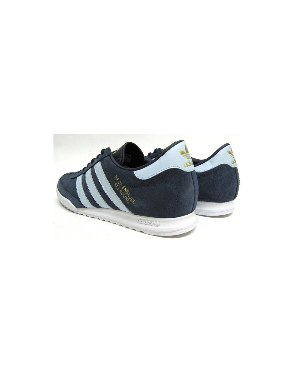 nouvelle arrivee ae541 e9099 Adidas Beckenbauer Trainers Navy/Argentina Blue
