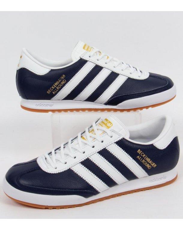 outlet store 150d6 e8eba adidas beckenbauer navy white gold