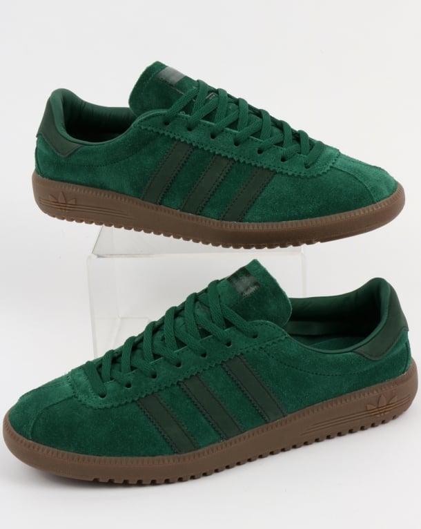 fa71402e88ab adidas Trainers Adidas Bermuda Trainers Green Night Gum