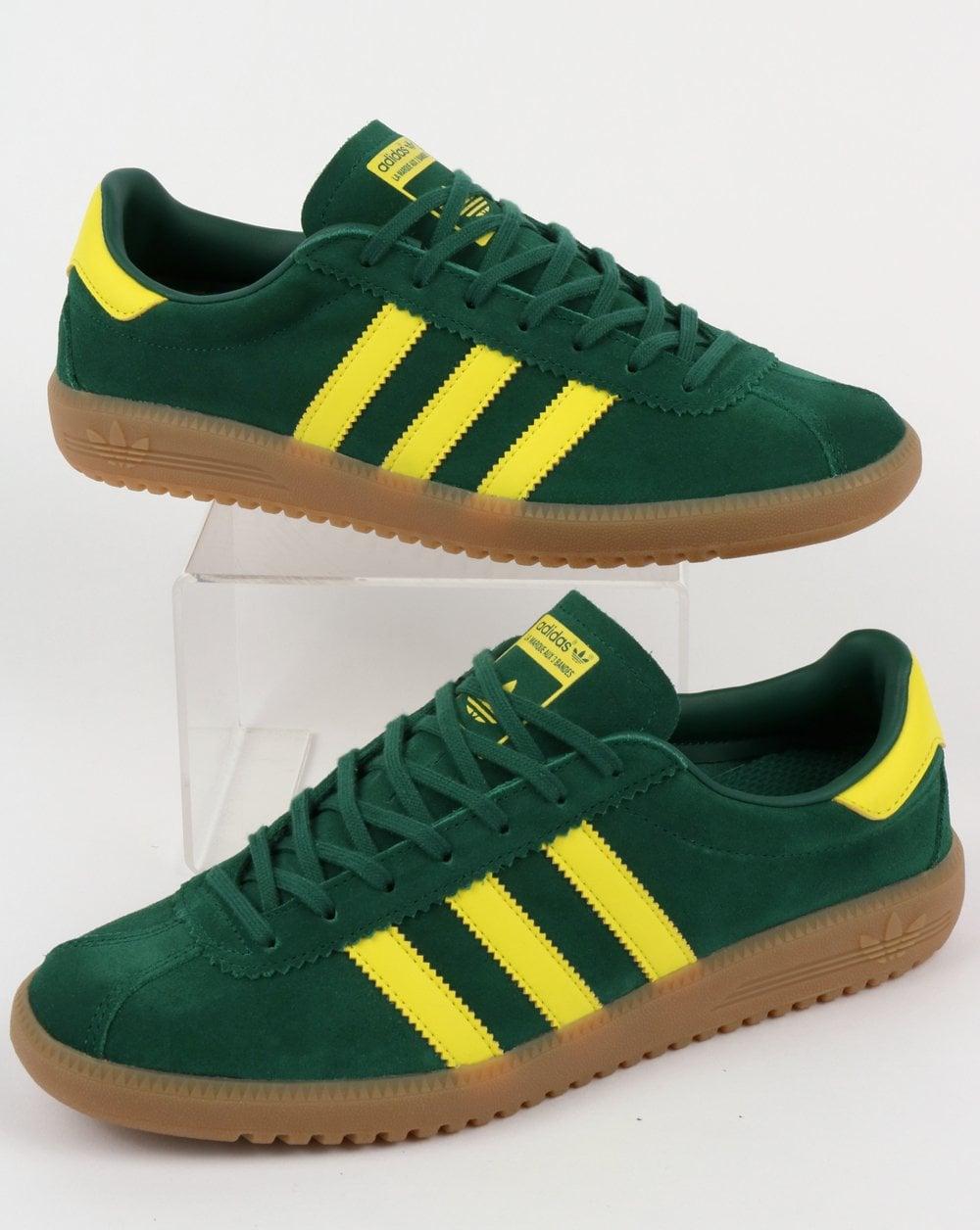 Adidas Bermuda Trainers Green/Yellow