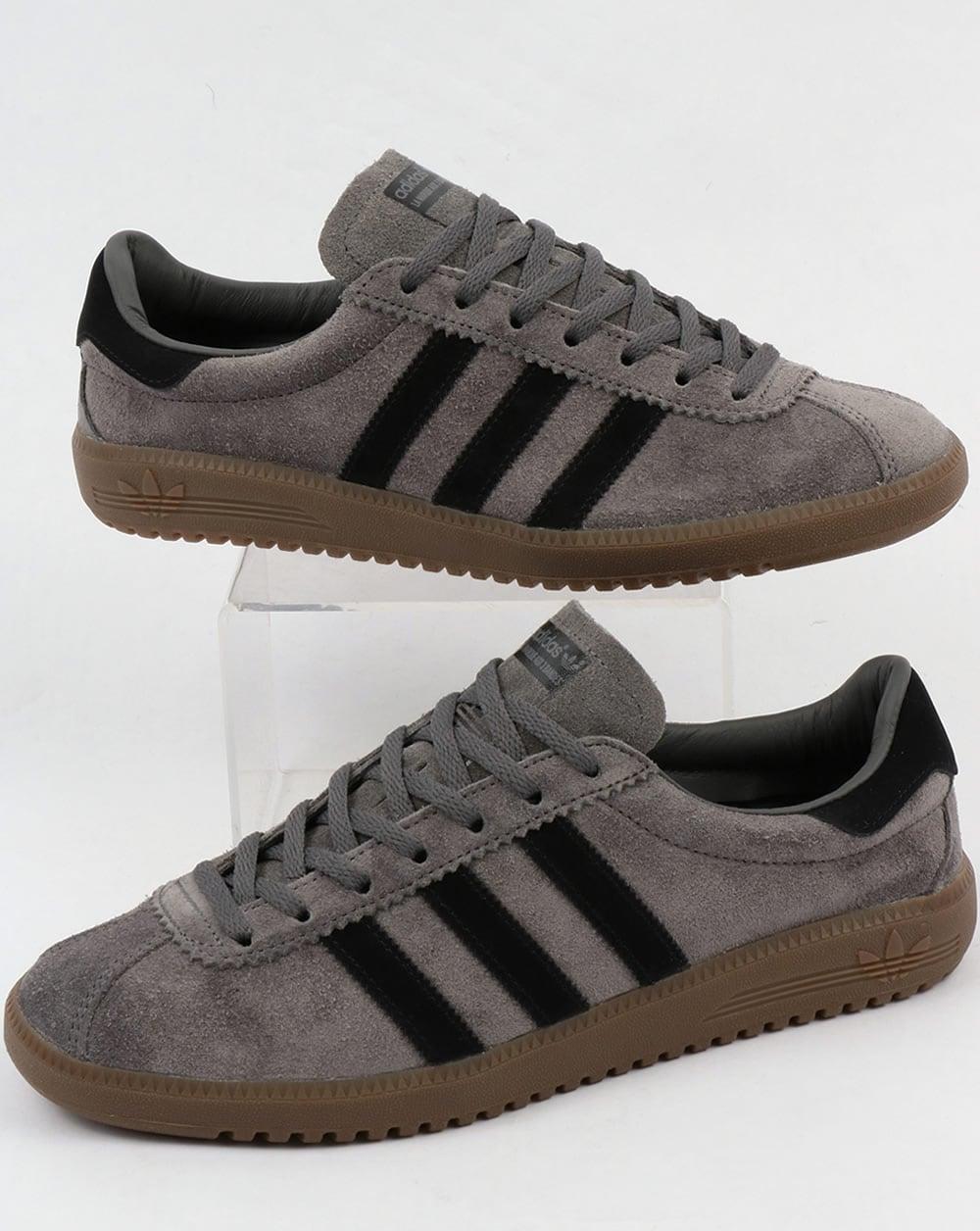 8fd7a213a0535a adidas Trainers Adidas Bermuda Trainers Grey Black Gum