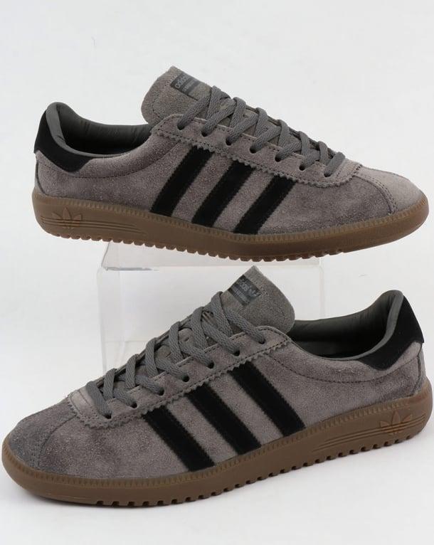 Adidas Bermuda Trainers Grey/Black/Gum