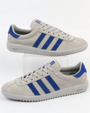 adidas Trainers Adidas Bermuda Trainers Grey/Bold Blue