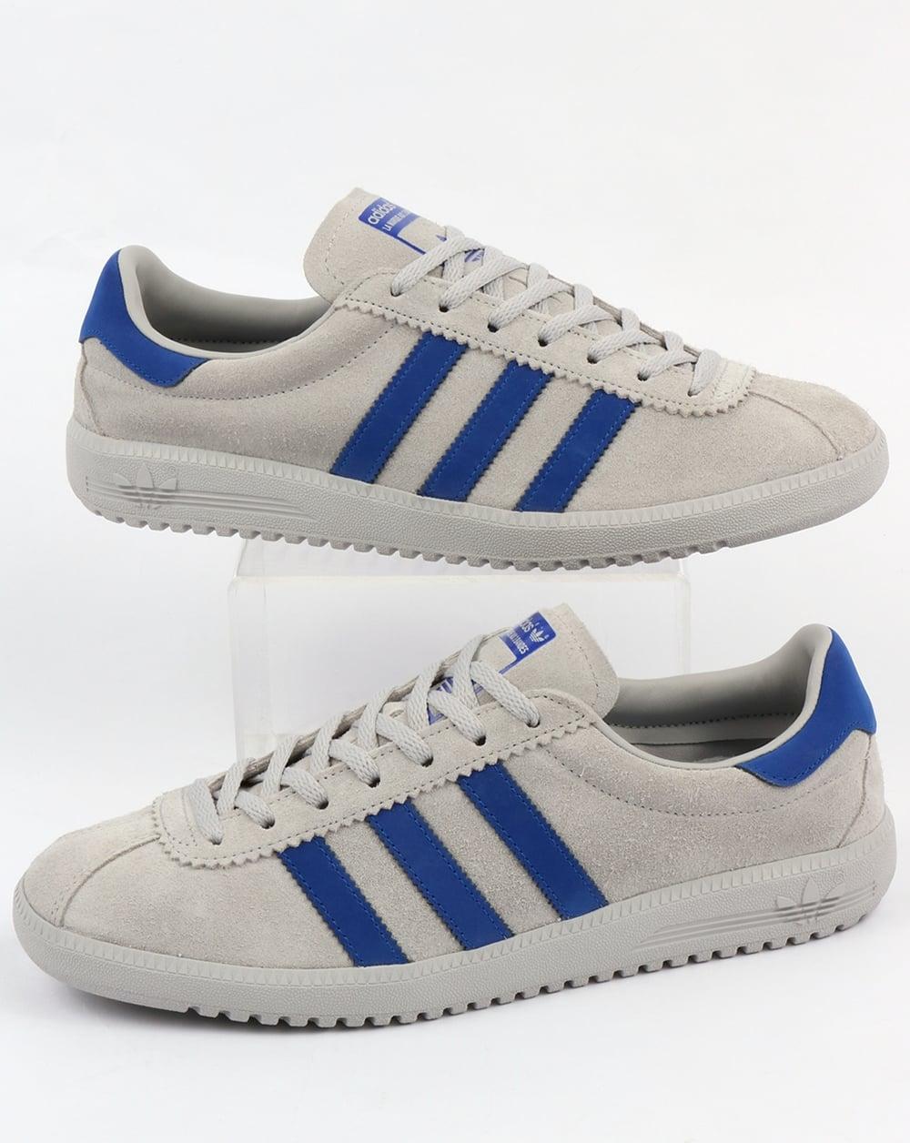 Adidas Bermuda Trainers Grey/Bold Blue