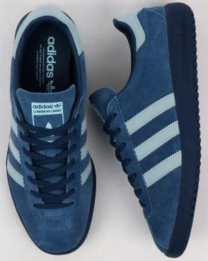 adidas Trainers Adidas Bermuda Trainers Vintage Navy/Sky Blue