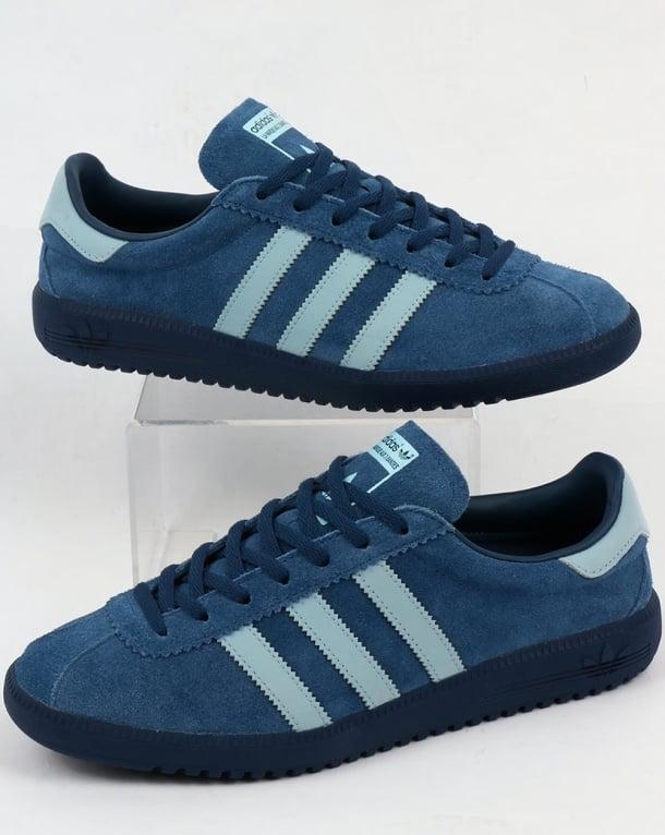 Adidas Bermuda Trainers Vintage Navy/Sky Blue