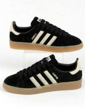 adidas Trainers Adidas Campus Trainers Black/white/gum