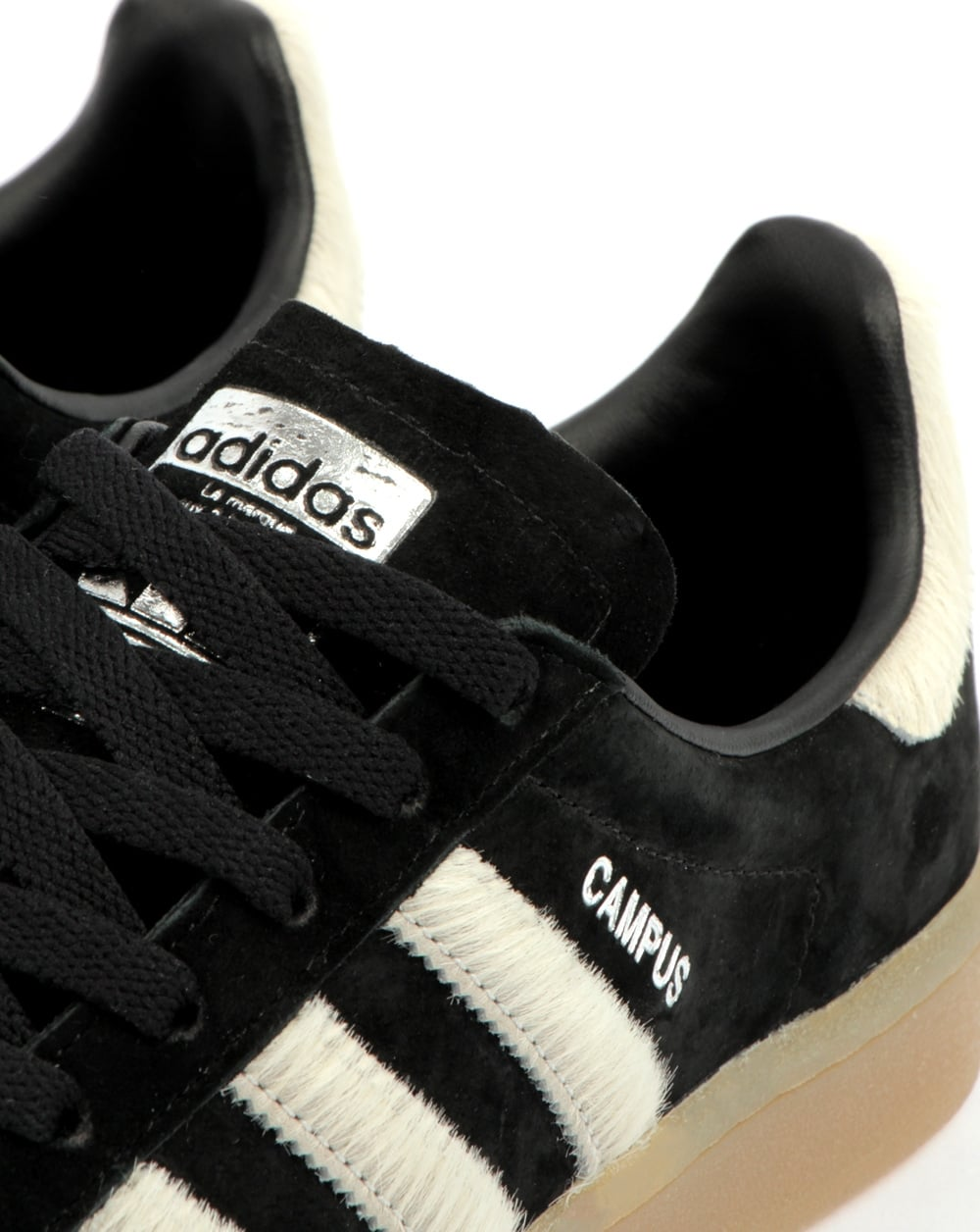 Adidas Campus Trainers Black/white/gum