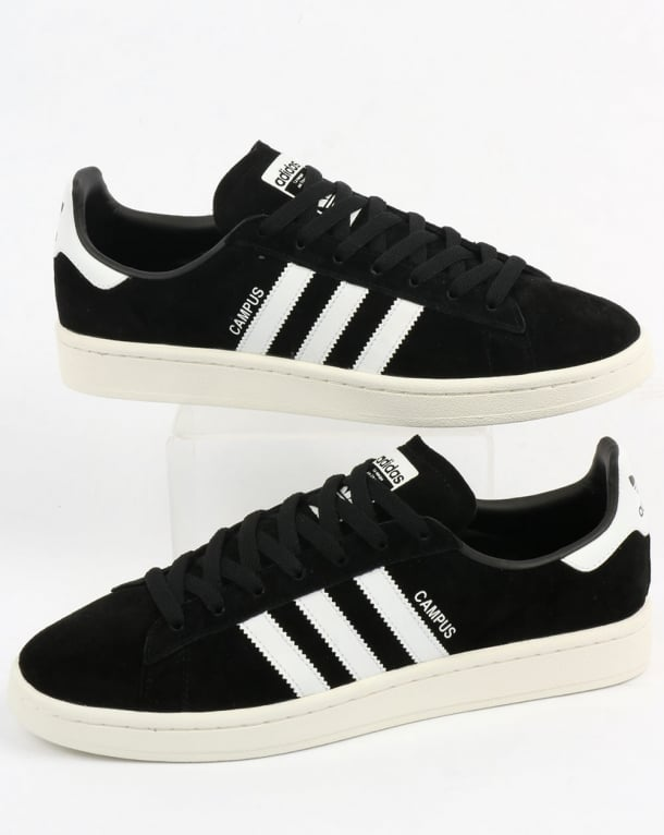 Adidas Campus Trainers Black/White